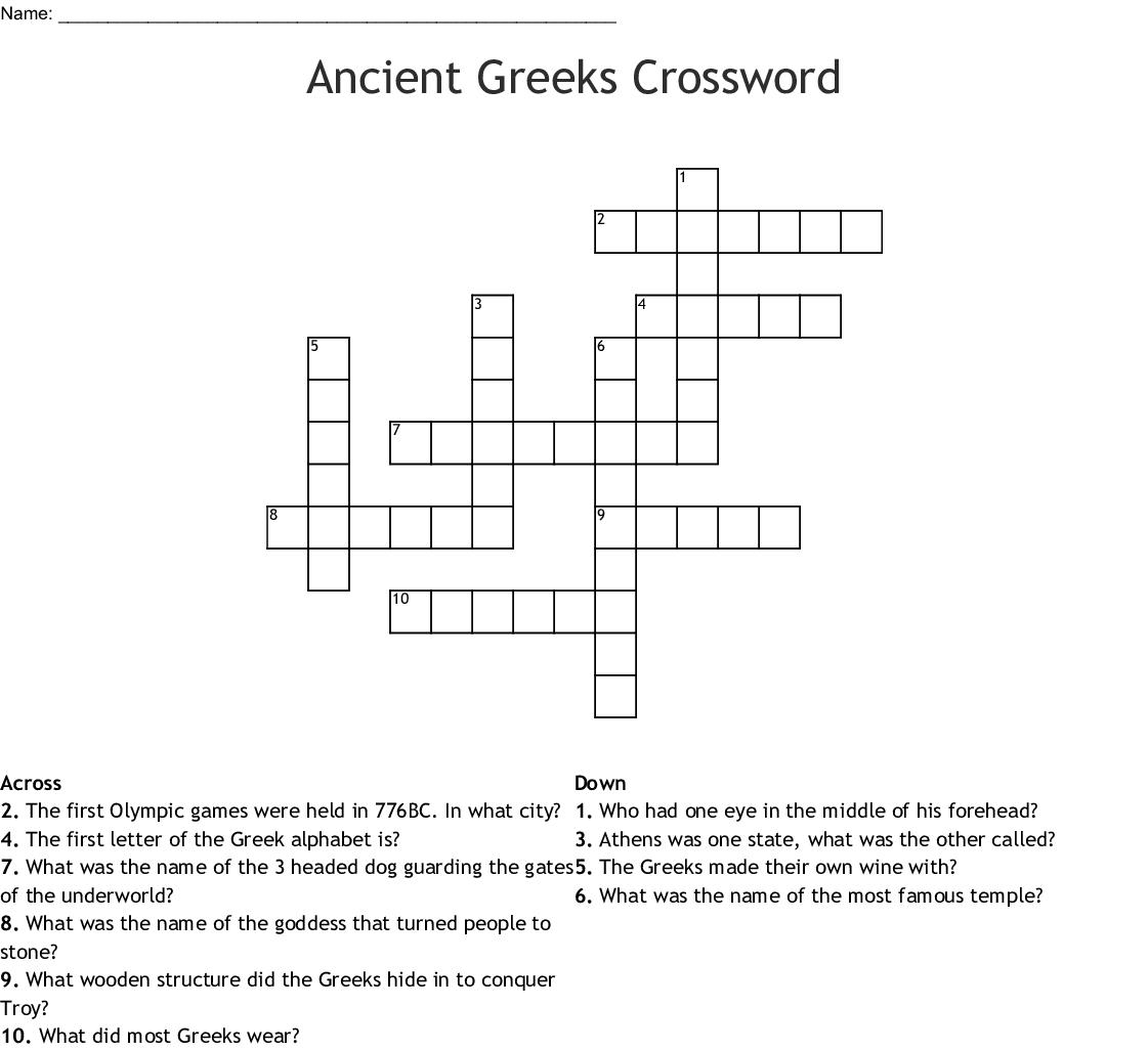 ancient greek coin names crossword