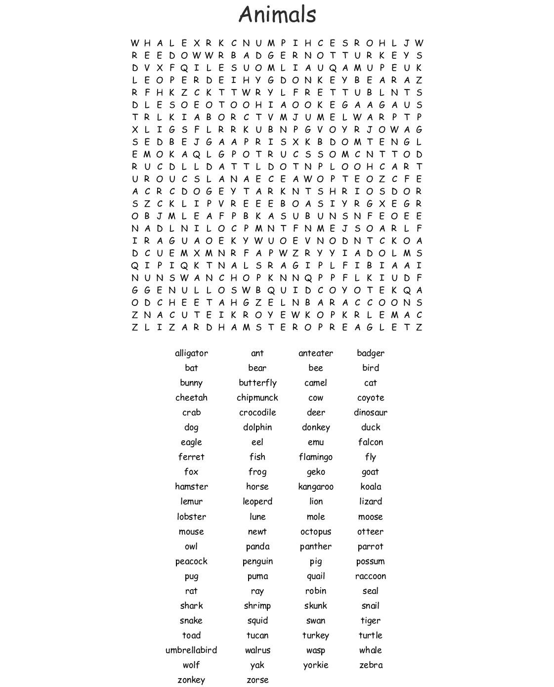 This is an image of Irresistible 100 Word Word Search Printable