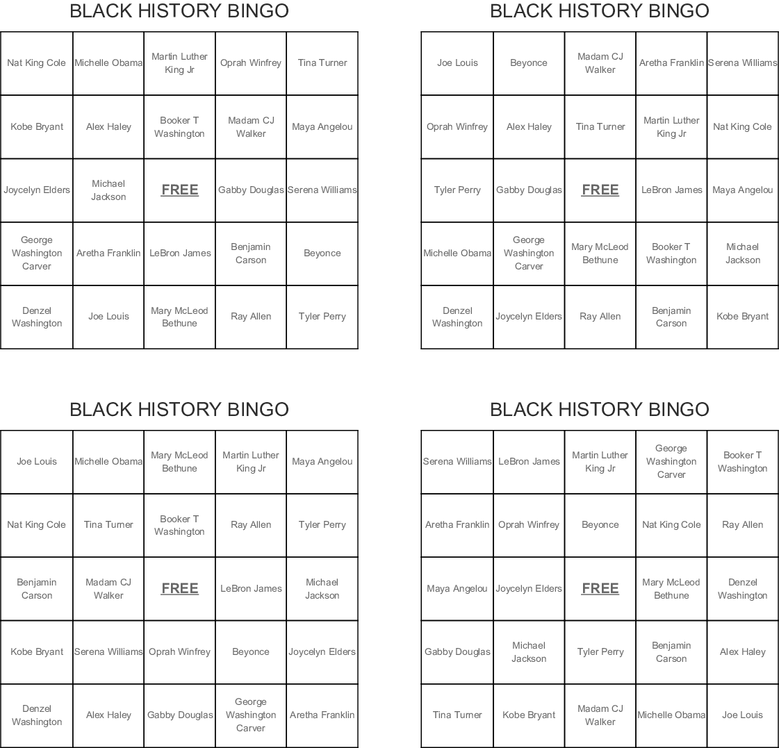 picture relating to Black History Quiz Questions and Answers Printable identified as Popular African American Term Glimpse - WordMint