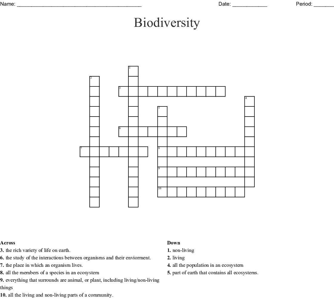 Ecological Relationships Worksheet Answer Key ...