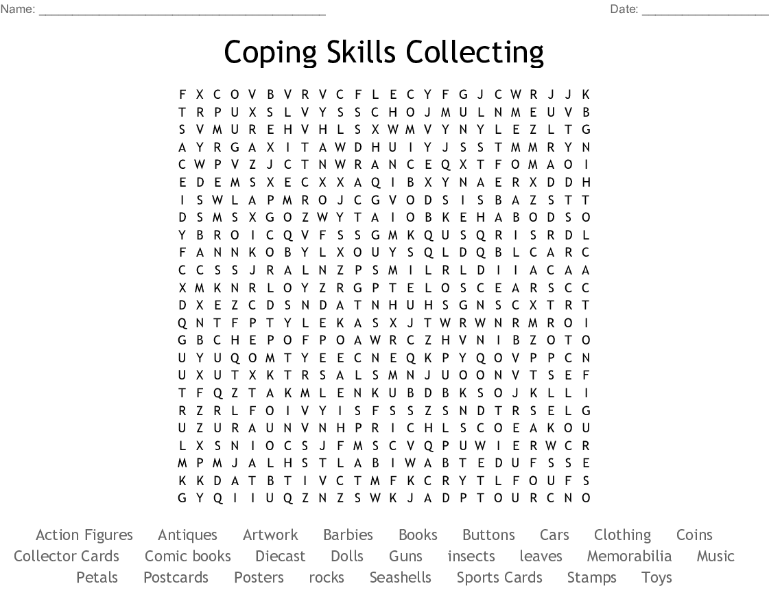 coin collector crossword