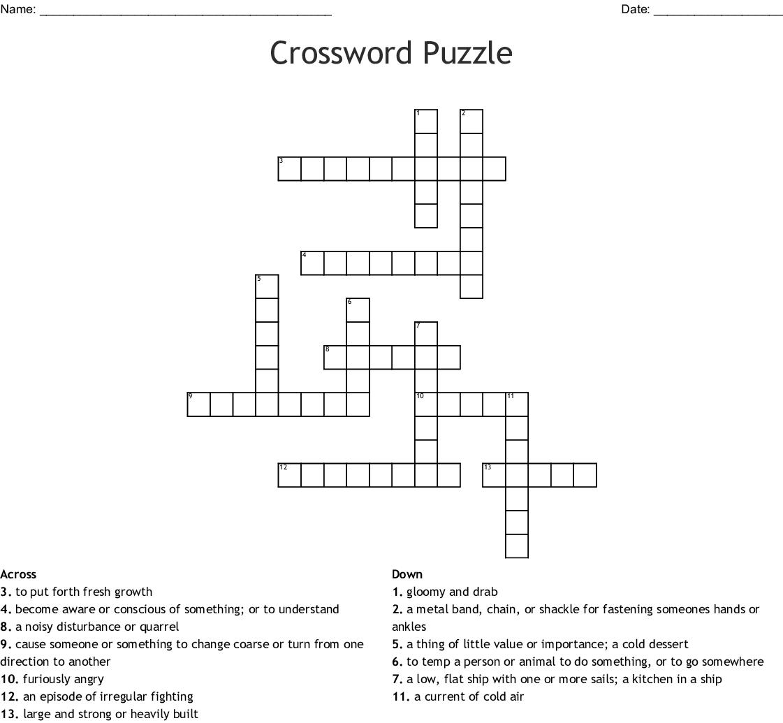 Bronze Bow Crossword Wordmint