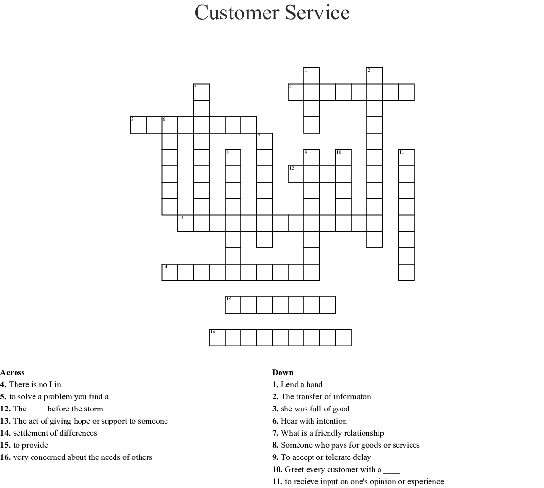 What Are Soft Skills Crossword Wordmint