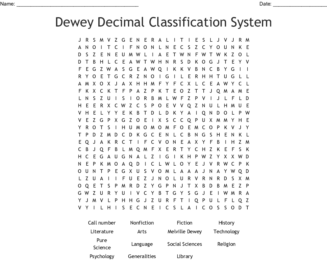 image about Dewey Decimal System Printable Bookmarks titled Libraries Phrase Appear - WordMint