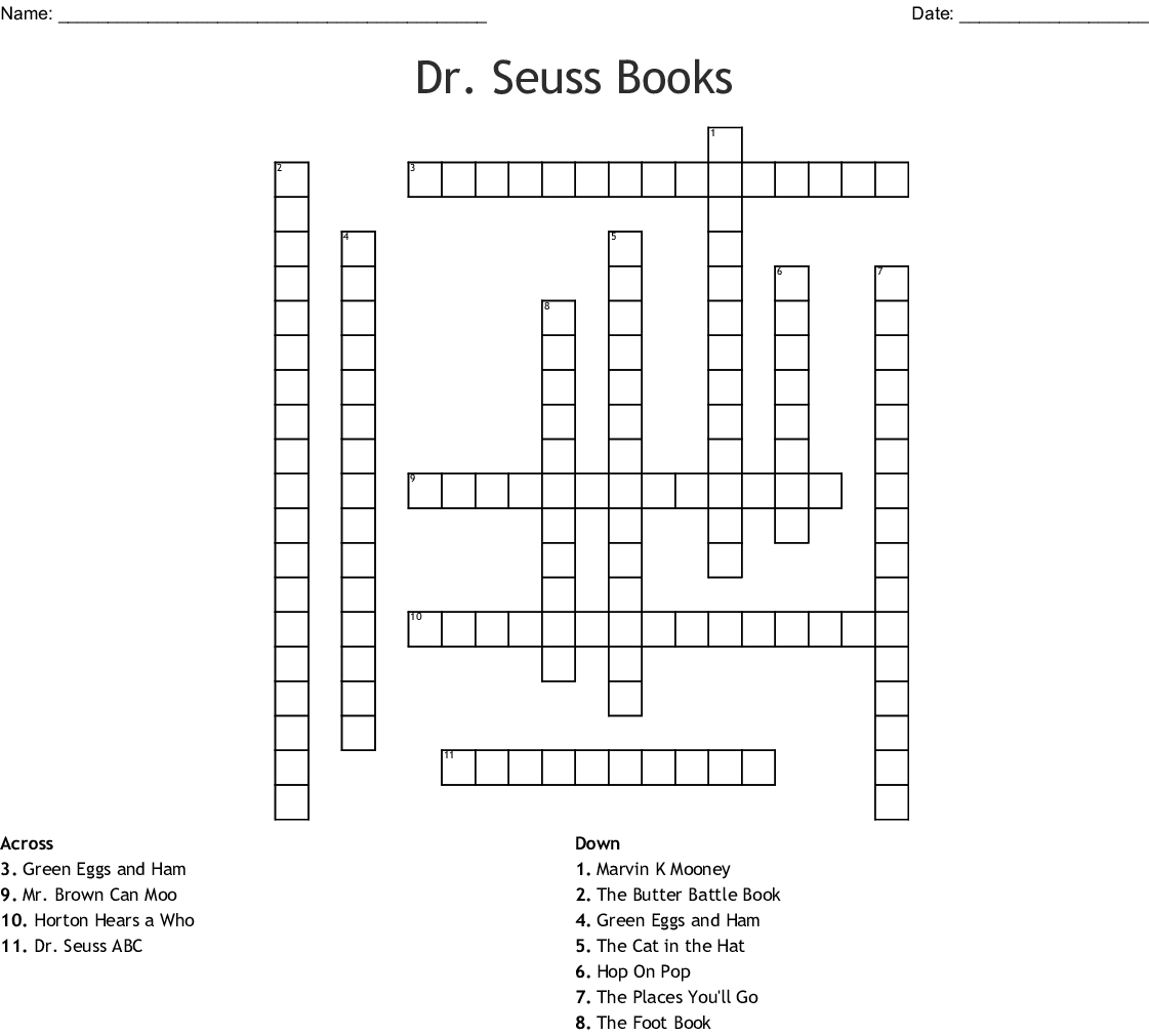 image regarding Dr Seuss Word Search Printable named Dr. Seuss 1st quality Term Seem - WordMint