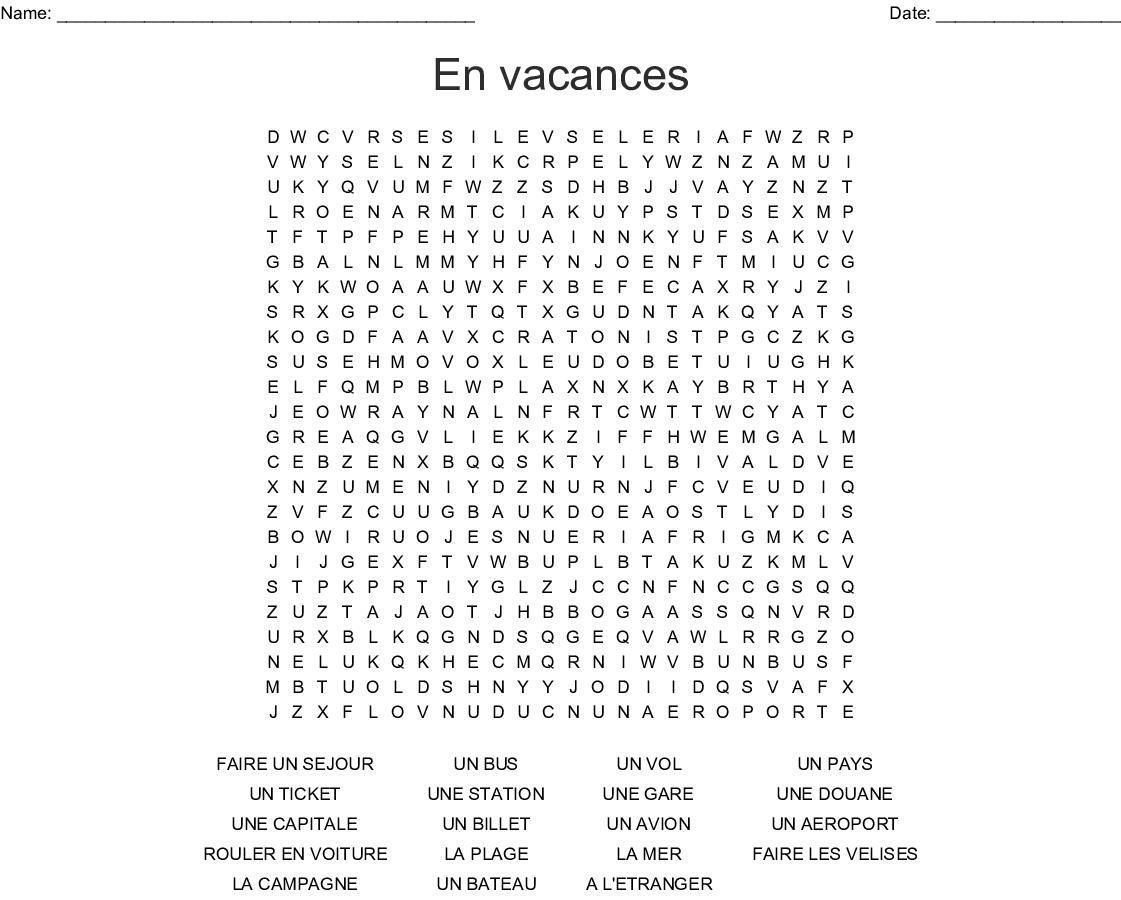 Comment Rouler Les Serviettes De Bain french 2 wordsearch shreyas - wordmint