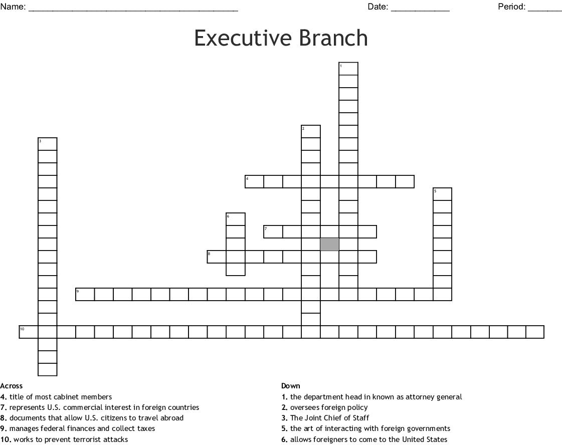 civics chapter 6 crossword puzzle - WordMint