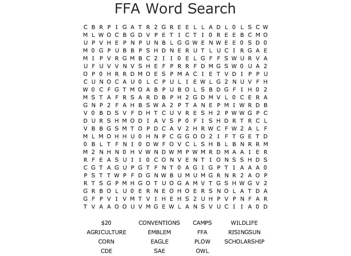 Printables of Ffa Worksheet Answer Key - Geotwitter Kids ...