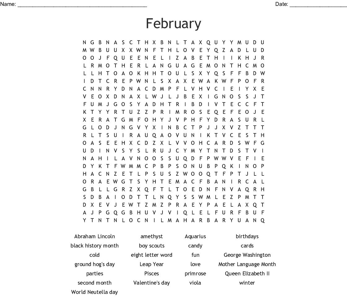 Groundhog Day Crossword