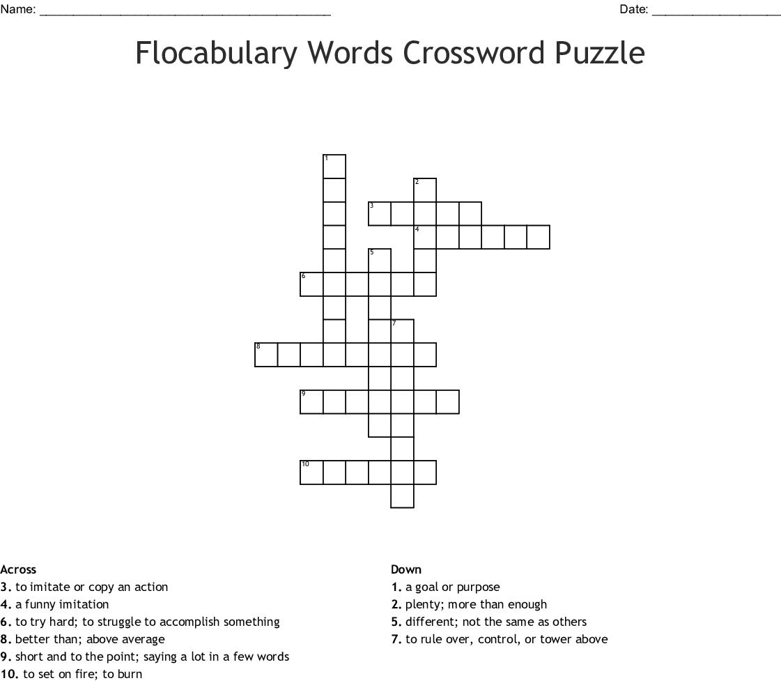 Mime In A Box Crossword - WordMint