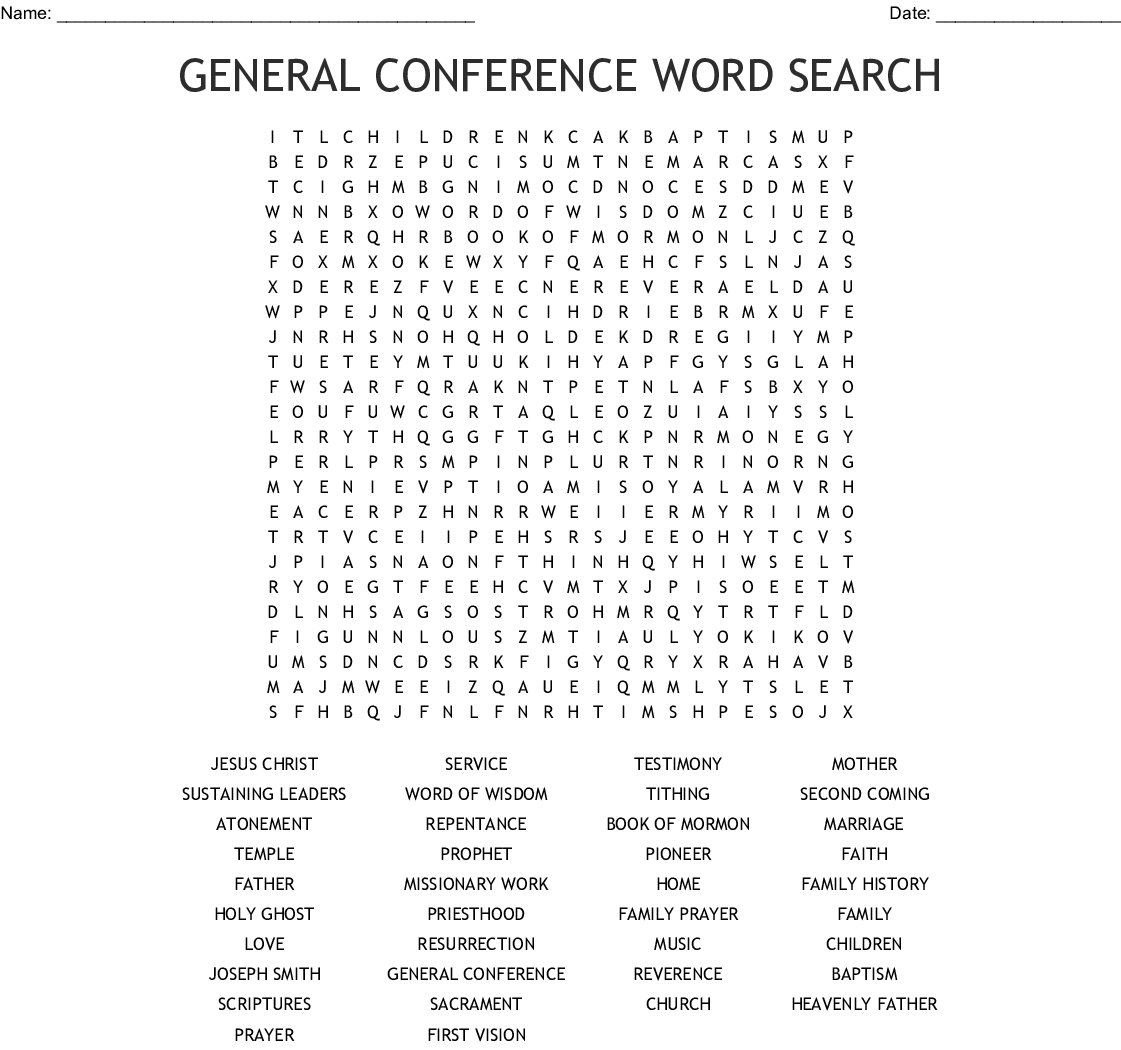 image relating to Thomas Joseph Printable Crossword named Overall Convention Phrase Glance - WordMint