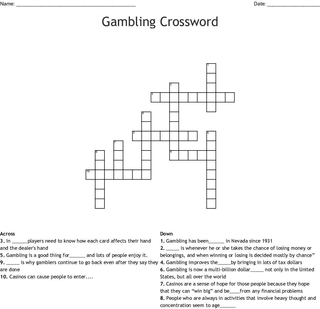 betting limit/crossword
