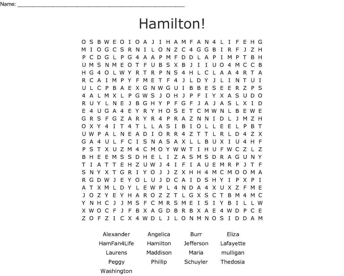 alexander hamilton word search   wordmint hamilton word search