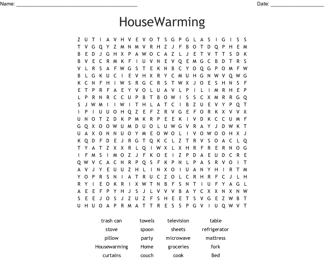 It is a graphic of Printable Housewarming Games in lady