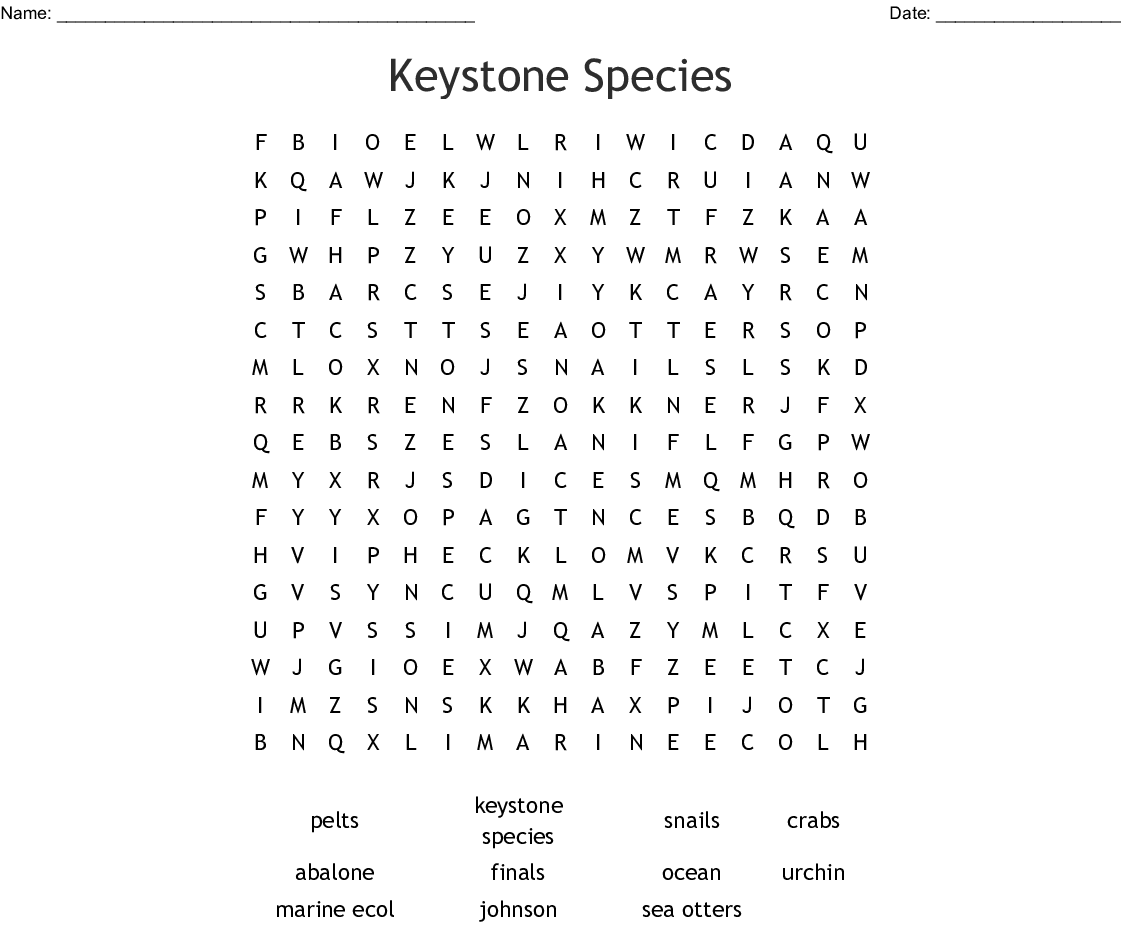 keystone word
