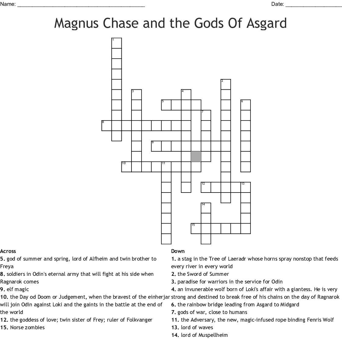 group at asgard crossword