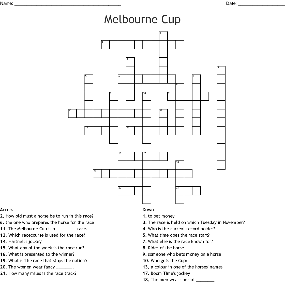 Betting money crossword clue jen widerstrom diet betting
