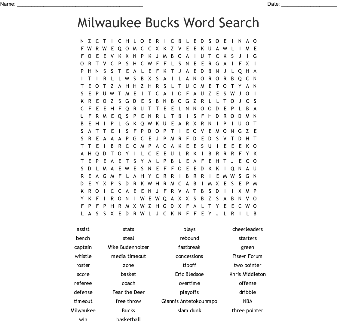 March Madness Word Serach Word Search - WordMint