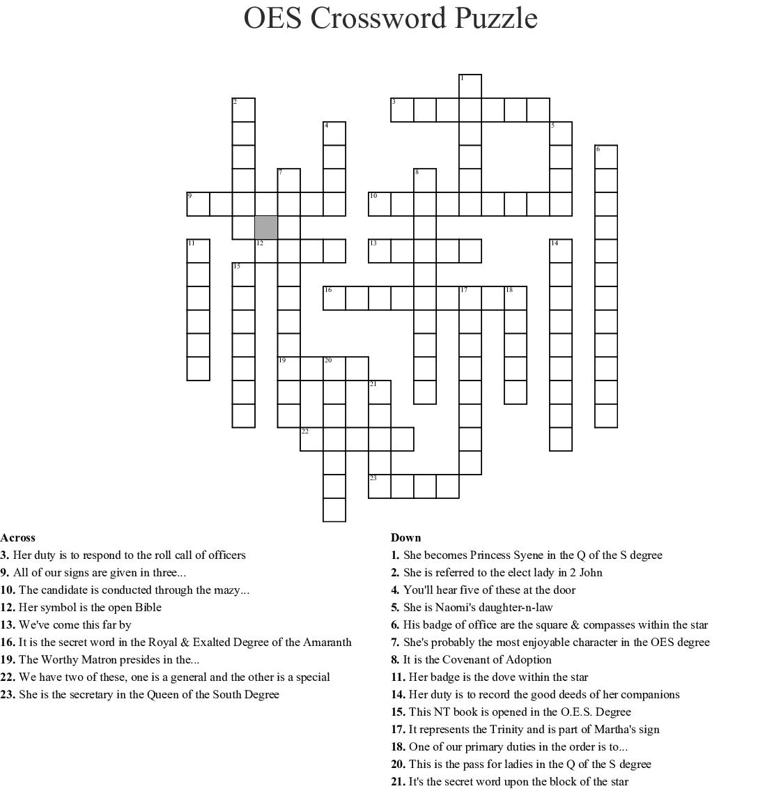 one worthy of emulation crossword