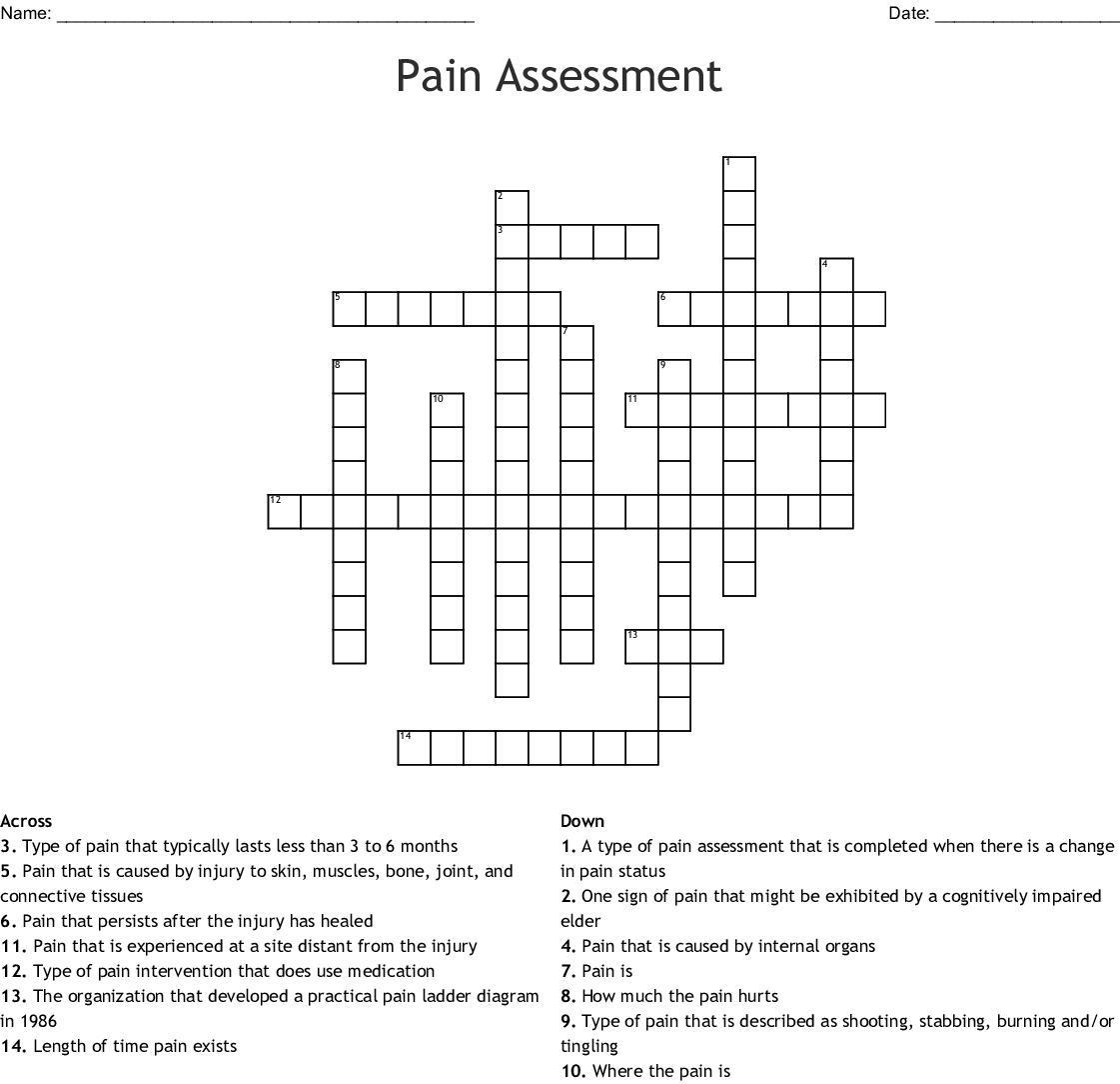 The Nursing Assistant In Long Term Care Chapter 1 Crossword Wordmint