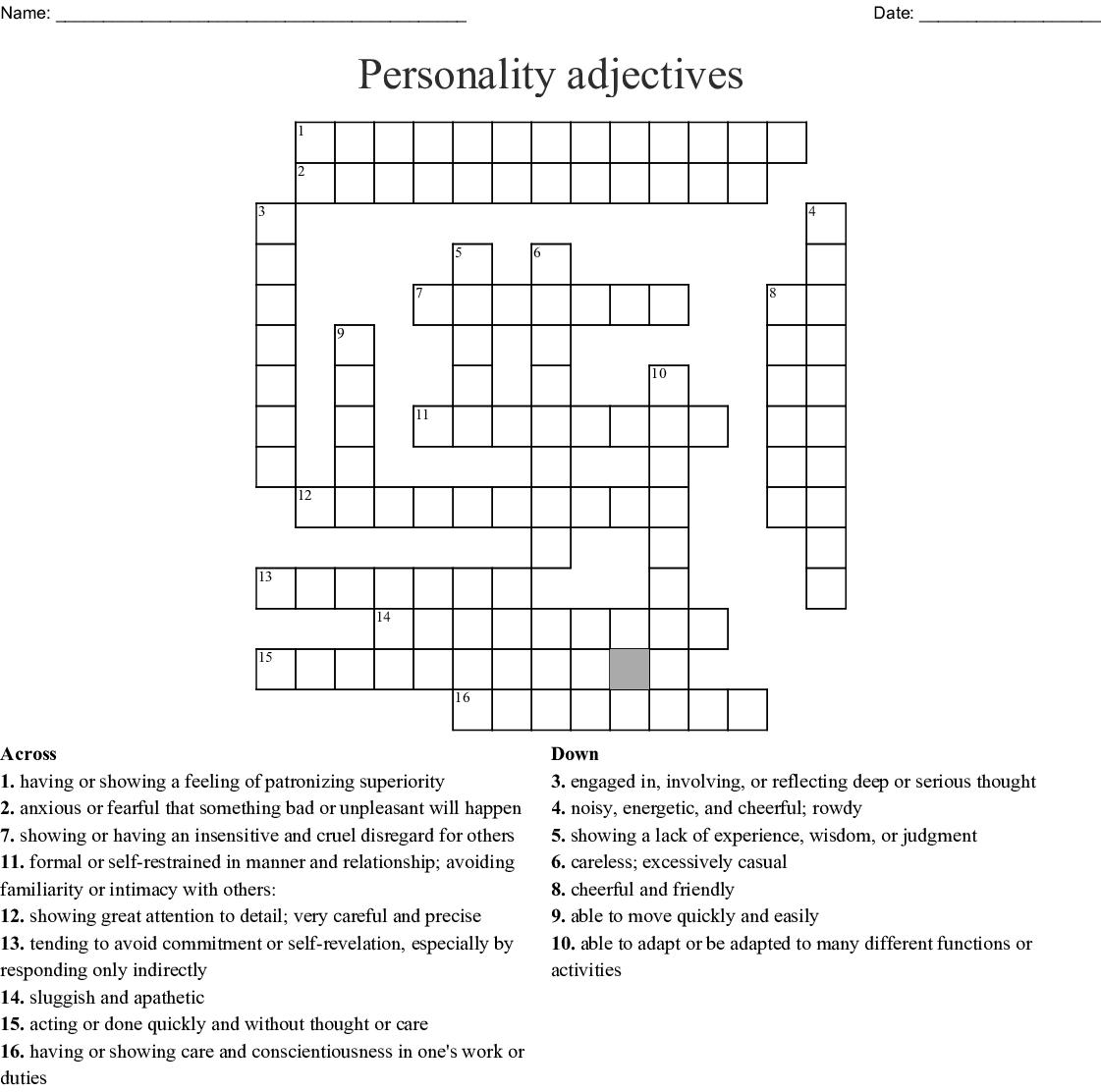 C Project Cross Word Puzzle Wordmint