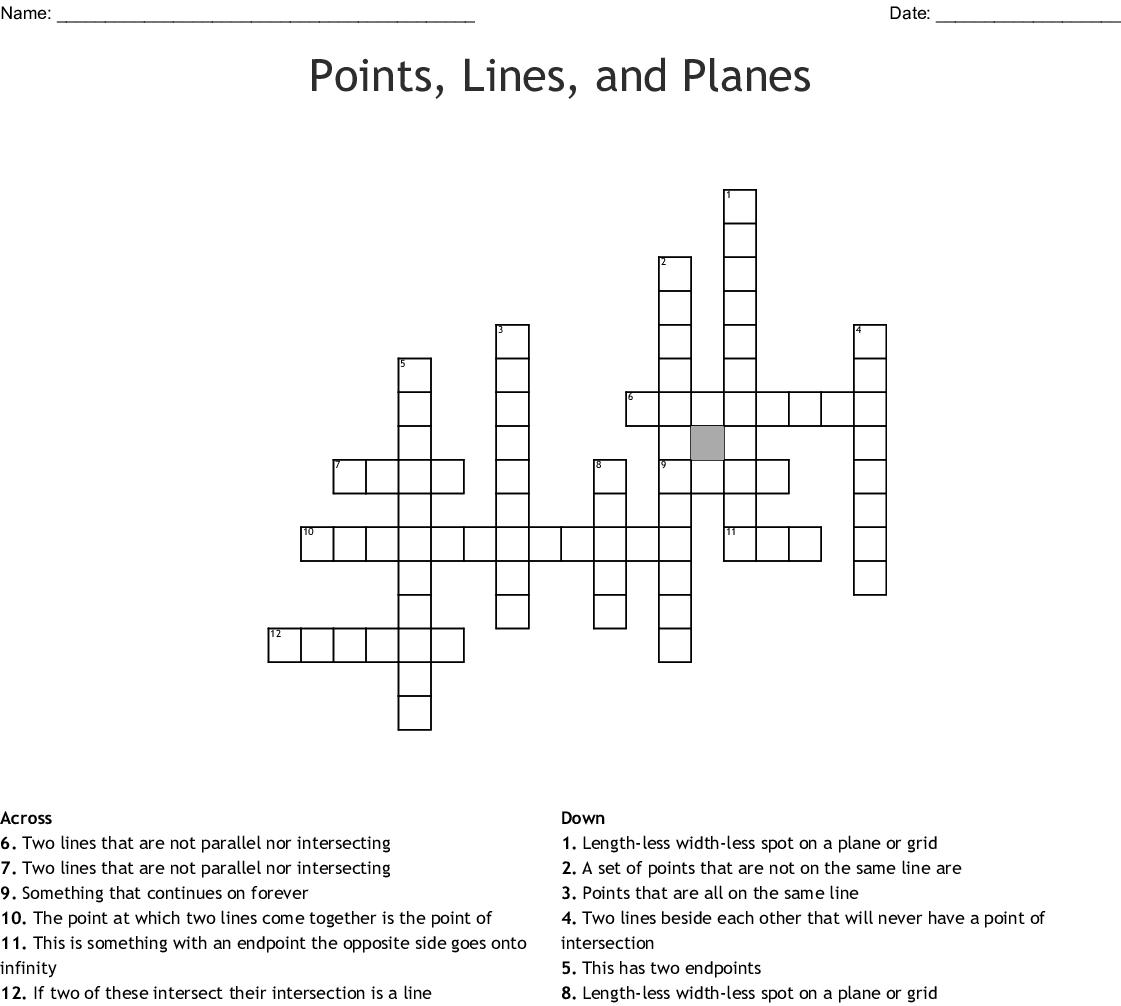 Similar To One Point Perspective Crossword Wordmint
