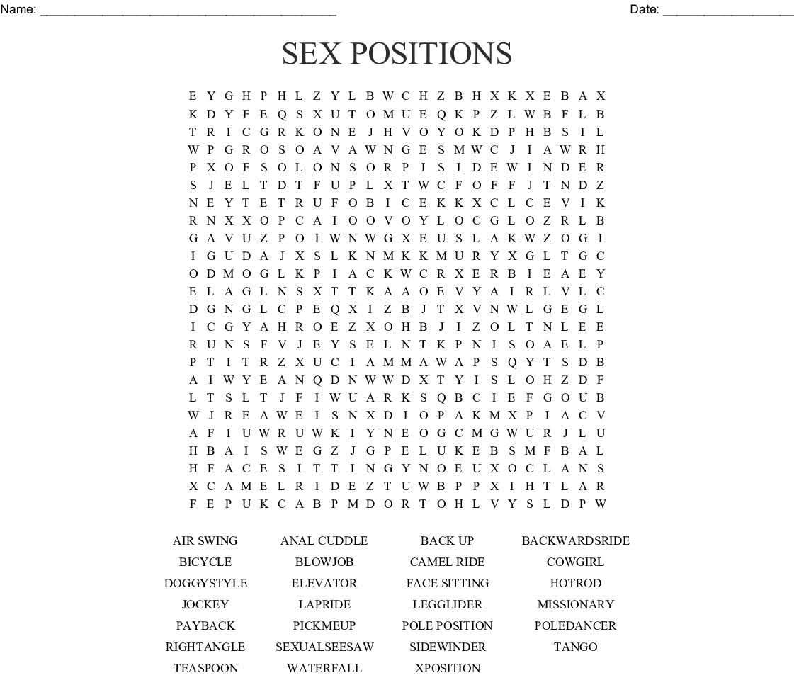 Sexual position fonts