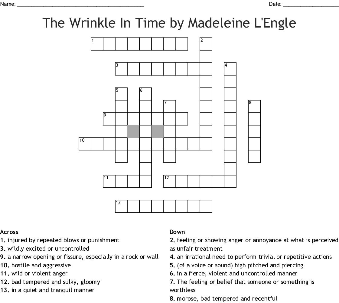Crosword Puzzle Crossword Wordmint