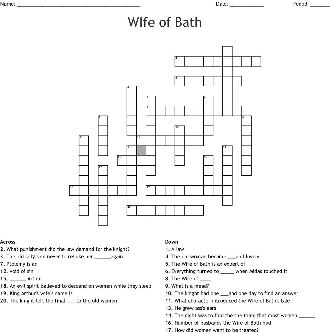 King midas daughter name crossword