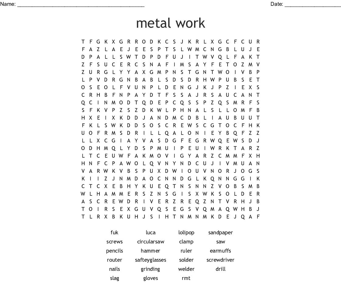 woodworking crossword - wordmint